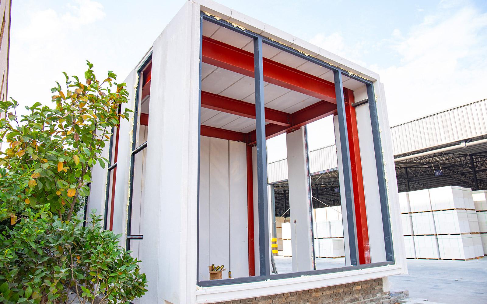 向往节能为你讲解蒸压加气混凝土板安装的方法